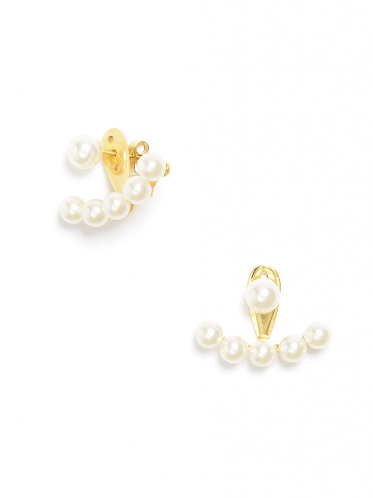 Perfectly Perched Pearl Earrings