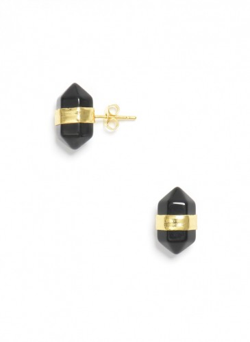 Perched Stone Earring