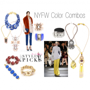 NY Fashion Week Inspired Color Combos
