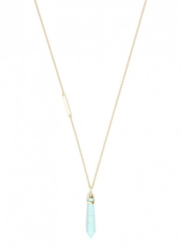 n1556_tq_Stone Pendulum Necklace