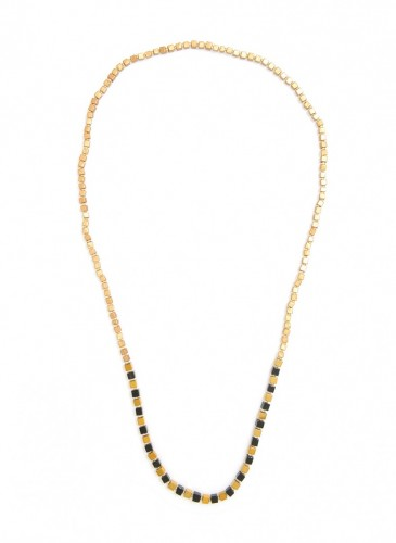 n1625-blk_1Stone Foundation Necklace
