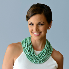 The Necklace: Beading Bib
