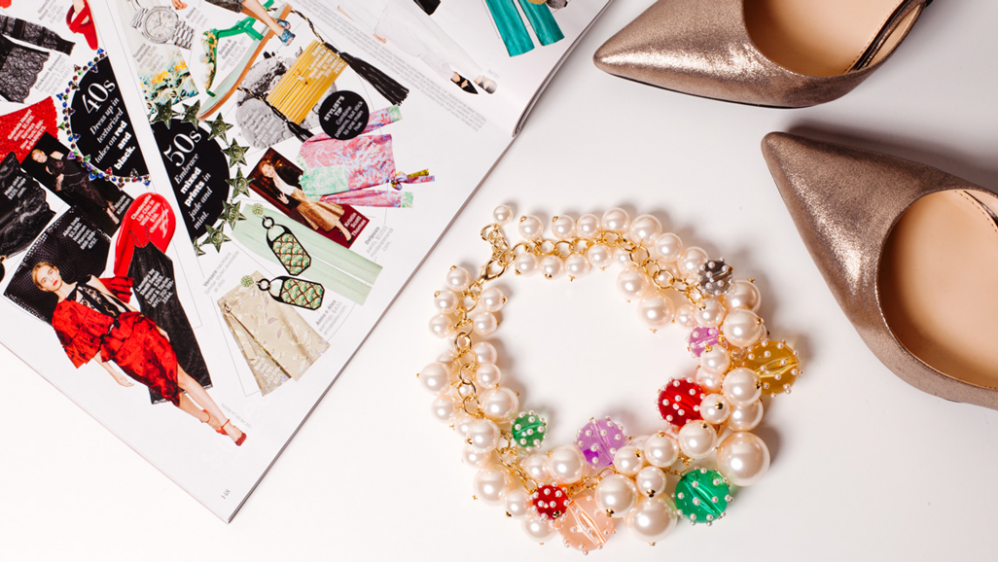 The Look: A Different Way to Wear Pearls